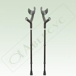 Костыли с подлокотником и устройством против скольжения арт. 26У