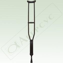 Костыли опорные (алюминиевый сплав) для взрослых с регулируемыми секциями с УПС арт. 19(753)Т
