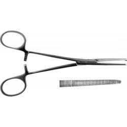 Зажим кровоостанавливающий 1х2 зубый зубчатый прямой №2 З-5 160 мм