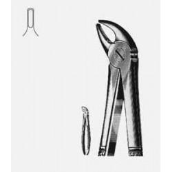 Щипцы стоматол. д/удаления молочных резцов нижней челюсти №38 Щ-179