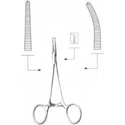 Зажим к/о 1х2 зубый прямой №2, 162 мм, З-112