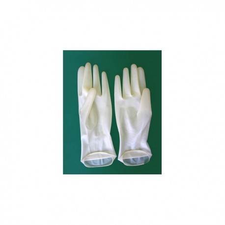 Перчатки смотровые стерильные: размер: L