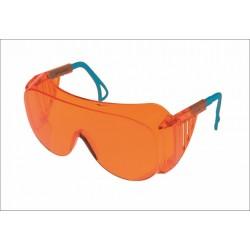 Очки защитные открытые О45 ВИЗИОН  (2-2 PL), арт.14512, оранжевые