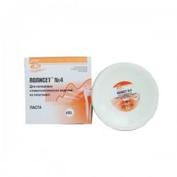 Полисет N 4 (на водной основе для полировки изделий из пластмасс) 400г