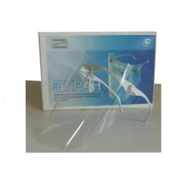 """Экран полимерный прозрачный для защиты глаз и органов дыхания стоматолога """"ЭЗ-ЦЕЛИТ"""""""