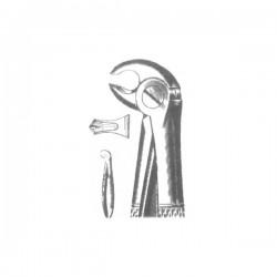 Щипцы стоматол. д/удаления молочных моляров нижней челюсти №22А Щ-176