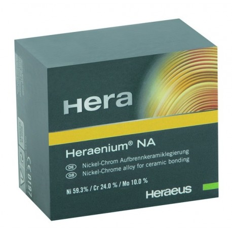 Сплавы стоматологические Heraenium NA (на основе никеля) 1кг